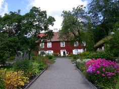 Linnaeus's house, Hammarby, outside Uppsala