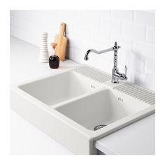 DOMSJÖ Lavello incasso, 2 vasche  - IKEA