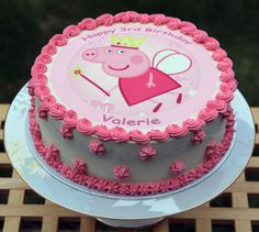 peppa pig cakes - Google Search