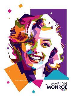 Marilyn Monroe Kunst, Marilyn Monroe Wall Art, Family Art Projects, Pop Art Artists, Pop Art Portraits, Shops, Art Anime, Celebrity Drawings, Computer Art