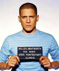 Wentworth Miller - Michael Scoffield Prison Break.  awesome show...never missed an episode.  Talk about boyishly sexy.