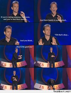 I wish I listened to Christopher Titus more before it was too late.