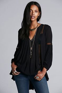 Free People Just the 2 of Us Tunic
