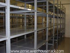 Is Your warehouse struggling with a lack of free space? Help it immediately! Buy Used Metal Shelving right now! #http://genie.warehouserack.com/