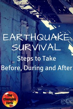 The Changing Earth Podcast, @TheSurvivalMom explains #earthquake #survival