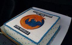 Mozilla envía una tarta a Microsoft