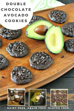 Have you ever baked with avocado before? If not, you have to try these Double Chocolate Avocado Cookies! A perfect chewy cookie with a just slightly crispy edge.