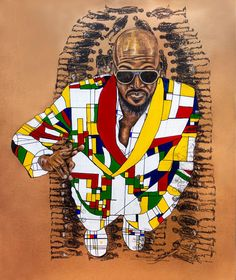 Silas Motse   Bophelo Kamora Ho Fifala - large African drawings available for sale   StateoftheART African Drawings, African Art, Online Art Gallery, Original Artwork, Contemporary Art, Artist, Artists, Modern Art, African Artwork