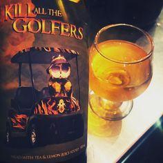 Kill All The Golfers by B. Nektar Meadery - big tea and lemon flavors...super interesting and tasty  #bnektarmeadery #mead #arnoldpalmer  #craftbeer #craftbeerporn #beer #beerstagram #beertography #instabeer #beernerd #beerpic #fanaticbeer #beerme #goodbeer #goodbeerhunting #beergasm #iheartbeer #craftnotcrap #untappd #beer_community #craftbeer