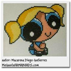 PPG Bubbles hama beads by Macarena Diego Gutierrez