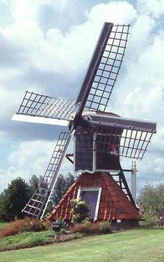 #Windmill - Polder mill De Ikkers, Wartena, The #Netherlands - http://dennisharper.lnf.com/