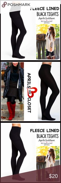 """FLEECE LINED TIGHTS FLEECE LINED TIGHTS   COLOR: JET BLACK  ABOUT THIS ITEM * Super soft, plush & comfortable * High quality & well made * Designed for layering (not meant to wear alone) * Stretch-to-fit * Size S/M approx fits 4'10""""-5'11"""", 100-150 LBS * Size M/L approx fits 5'0""""-5'11"""", 140-195 LBS * Will not shrink or fade  FABRIC 94% polyester, 6% spandex  ❌NO TRADES❌ ✅BUNDLE DISCOUNTS✅ OFFERS CONSIDERED (Via the offer button only)  ITEM# B-MODERNH SEARCH WORDS # sweater winter fall plush…"""