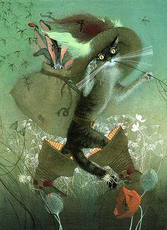 ilustración de Nadezhda Illarionova