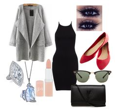 """""""Everyday look"""" by lanice-flaw-fisher on Polyvore featuring Wet Seal, Yves Saint Laurent, Ray-Ban and Rimmel"""