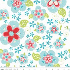 Riley Blake Designs - Home Decor Patterns - Sugar and Spice Main in Blue