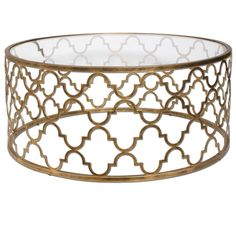 Buy the Uttermost 25015 Antique Gold Direct. Shop for the Uttermost 25015 Antique Gold Quatrefoil Coffee Table and save. Vintage Glam, Table Vintage, Vintage Makeup, Vintage Signs, Iron Coffee Table, Glass Top Coffee Table, Coffee Tables, Iron Table, French Country Coffee Table