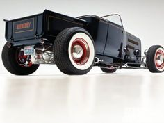 This phantom roadster pickup was dreamed up—and built—by John Barbero, owner of Pyramid Street Rods in Bellingham, Washington. After creating award-winning hot rods for many of his customers, Barbero decided that he wanted a roadster of his own.