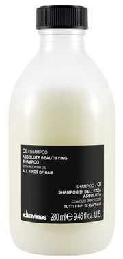 Davines OI Shampoo  Particularly suitable for giving hair extraordinary softness, shine and body: it is an ideal treatment before applying oi/all in one milk and oi/oil.    How to use:   Apply evenly to hair and scalp and massage in gently. Rinse and repeat application if necessary. Rinse off thoroughly.    Product Sizes:   280 ml    Natural Active Ingredients:   Roucou oil - prevent hair aging, strong anti-oxidant action;