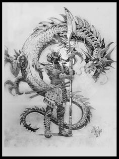 Samurai and Dragon