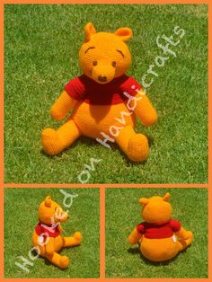 Winnie the Pooh by Hooked on Handicrafts. See us on Facebook and please like our page. Orders taken