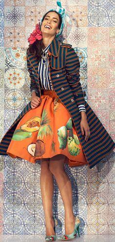 The Haitian-Italian fashion designer Stella Jean tells RedMilk her origins speaking about the importance of different cultures Stella Jean, Italian Fashion Designers, African Print Fashion, African Prints, Ankara Fashion, African Fabric, High Fashion, Womens Fashion, Denim Fashion