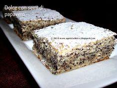 Agenda di Nico: Dolce con semi di papavero / Prajitura cu mac