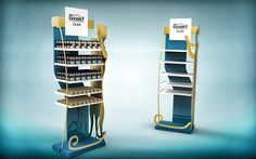 Concep of stand for petfood on Behance
