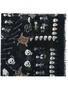 Alexander McQueen 'Voodoo Skull' scarf