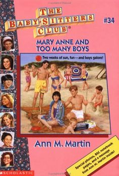 Mary Anne and Too Many Boys (The Baby-Sitters Club #34)