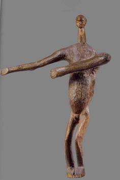 Figure Pindi late 19th/early 20th century Wood