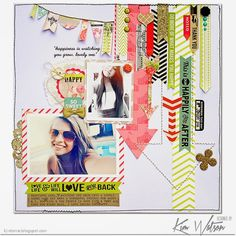 kim watson ★ paper crafts ★ designs: Papercrafts August 2014 issue + a new sketch.