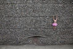 man in tutu raising money for breast cancer research, wonderful series