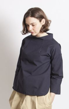 Studio Nicholson Pinti Smock Dark Navy - Outerwear
