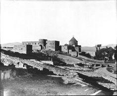 KAYSERİ-Tomarsa Ermeni manastiri, dis cephesi ve kilisesi... 1909