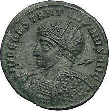 Constantine I The Great 318AD Ancient Roman Coin Two Victories w shield i55556 https://trustedmedievalcoins.wordpress.com/2016/05/24/constantine-i-the-great-318ad-ancient-roman-coin-two-victories-w-shield-i55556-17/