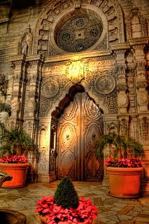 The Mission Inn, Riverside, California.this is only one of the fabulous doors at the mission inn.a wonderful sight to see! Cool Doors, Unique Doors, Beautiful Buildings, Beautiful Places, Beautiful Scenery, Mission Inn, When One Door Closes, Grand Entrance, Entrance Doors