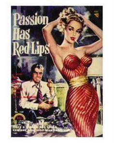 Passion has red lips