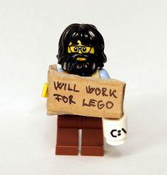 Will Work For LEGO by kockamania.hu, via Flickr