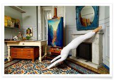 Madrid #5 als Premium Poster door The Urban Yoga | JUNIQE