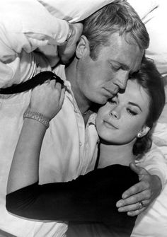 Natalie Wood, Steve McQueen - 'Love With a Proper Stranger'. Natalie wore pretty, wool shift dresses & looked  fabulous in them!