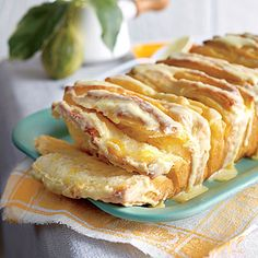 Citrus Pull-Apart Bread | This makes two gorgeous loaves for breakfast, tea, or coffee. Keep one, and share the other.