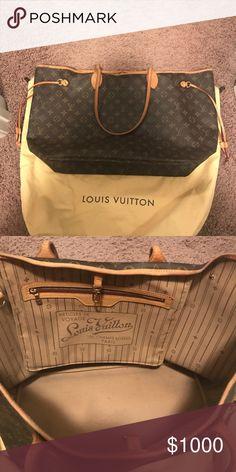 a1d8aff5426 Louis Vuitton Neverfull GM Louis Vuitton Neverfull GM Louis Vuitton Bags  Totes