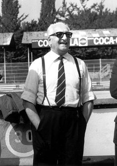 Enzo Ferrari (1898-1988) He proved that a passion and a dream in life can be made possible with hard work.