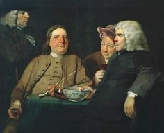 Mr Oldham and his Guests, 1735-45, Joseph Highmore