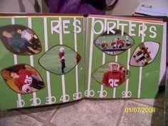 Football scrapbook
