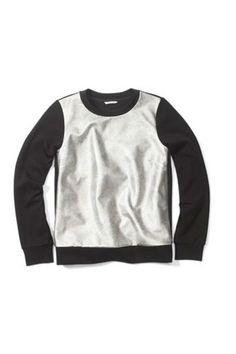 15 Fancy Sweatshirts To Wear Out Of The House #refinery29  http://www.refinery29.com/41827#slide1  Club Monaco Ainslie Sweatshirt, $89.50, available at Club Monaco.