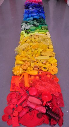 "Saatchi Online Artist: Liz West; Mixed Media, 2012, Installation ""Consume"""