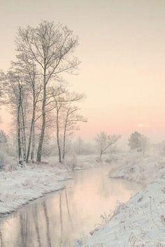 Pink winter glow