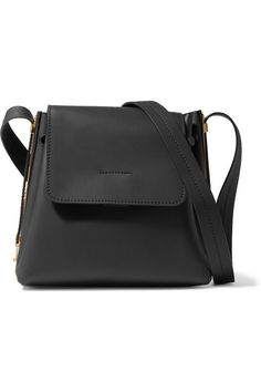 3fd406117b4e Black leather (Cow) Snap-fastening front flap, drawstring top Comes with  dust