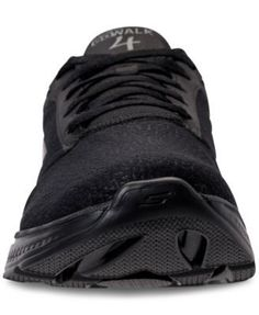 Skechers Men's Go Walk 4 Exceptional Casual Sneakers from Finish Line - Black 11.5